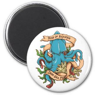 Krakenモンスターのタコの上昇 マグネット