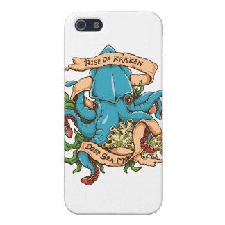 Krakenモンスターのタコの上昇 iPhone 5 Cover