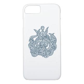 Kraken海モンスター iPhone 8/7ケース
