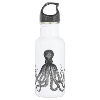 Kraken -黒く巨大なタコ/Cthulu ウォーターボトル