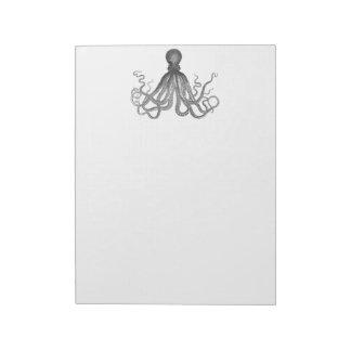 Kraken -黒く巨大なタコ/Cthulu ノートパッド