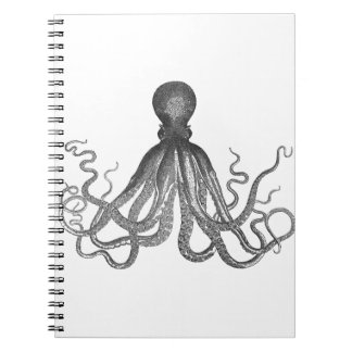 Kraken -黒く巨大なタコ/Cthulu ノートブック