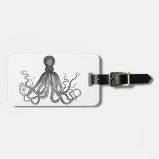 Kraken -黒く巨大なタコ/Cthulu ラゲッジタグ
