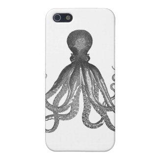 Kraken -黒く巨大なタコ/Cthulu iPhone 5 ケース