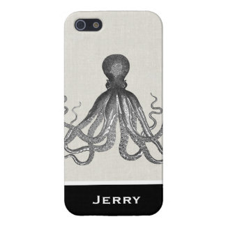 Kraken -黒く巨大なタコ/Cthulu iPhone 5 Case