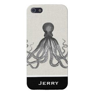 Kraken -黒く巨大なタコ/Cthulu iPhone SE/5/5sケース