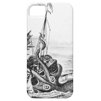 Kraken Eatting帆船 iPhone SE/5/5s ケース