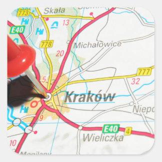 Kraków、クラクフ、ポーランドのCracow スクエアシール
