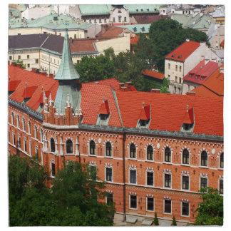Kraków、ポーランド ナプキンクロス