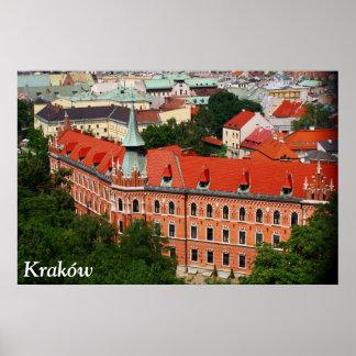 Kraków、ポーランド ポスター