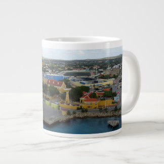 Kralendijk Harborfront ジャンボコーヒーマグカップ