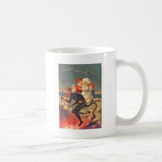 Krampusの誘拐の子供 コーヒーマグカップ