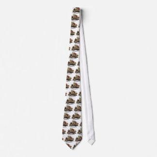 Krampusは子供を追跡します ネクタイ