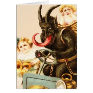 Krampusを保つこと グリーティングカード