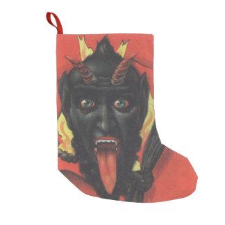 Krampus赤いスイッチ スモールクリスマスストッキング