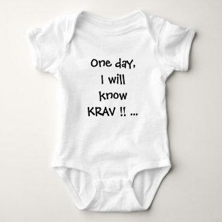kravのmagaのベビーのクリーパーはTシャツをベビー育てます ベビーボディスーツ
