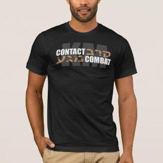 Krav Magaのヘブライ迷彩柄 Tシャツ