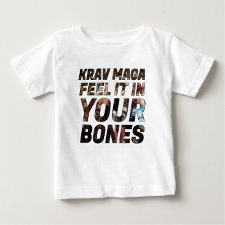 Krav Magaの感じあなたの骨のそれ ベビーTシャツ
