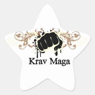 Krav Magaの穿孔器 星シール