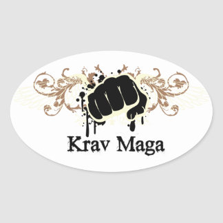 Krav Magaの穿孔器 楕円形シール
