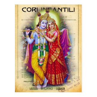 Krishna ポストカード