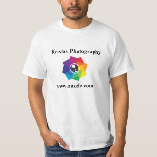 Kristasの写真撮影のロゴのTシャツ1 Tシャツ