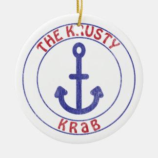 Krusty Krabのシーフード セラミックオーナメント