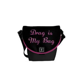 KRWのドラッグは私のバッグの小型メッセンジャーバッグです クーリエバッグ