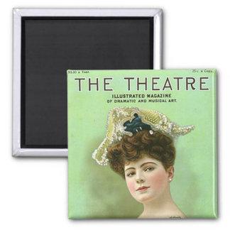 KRWのヴィンテージの劇場の1906年の雑誌の磁石 マグネット