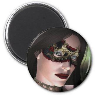 KRWの仮面舞踏会のファンタジーの磁石 マグネット