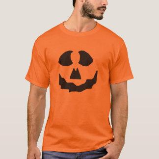 KRWの女性のジャックOのランタンの顔のハロウィンのワイシャツ Tシャツ