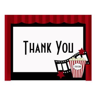 KRWの映画館は郵便はがき感謝していしています ポストカード