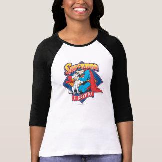 Kryptoのスーパーマン Tシャツ