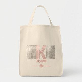 Krystal トートバッグ