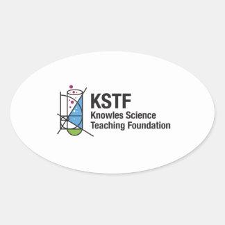 KSTFの楕円形のステッカー 楕円形シール