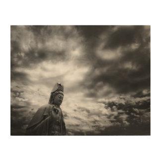 Kuanのインの彫像のファインアートの写真 ウッドウォールアート