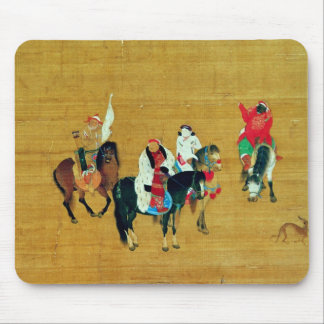 Kublai Khanの狩り、元 マウスパッド