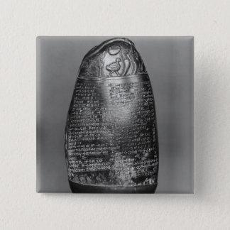 Kudurru 5.1cm 正方形バッジ