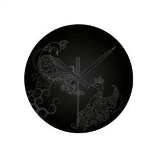 Kujyaku ラウンド壁時計