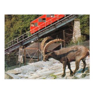 Kulmのより堅いケーブル鉄道、インターラーケン2 ポストカード