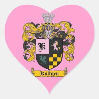 kultgenの頂上のギフト ハートシール