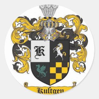 kultgenの頂上のギフト ラウンドシール