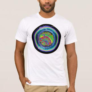 Kundaliniのドラゴン(白いTシャツ) Tシャツ