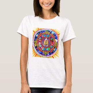 Kundaliniのヨガの曼荼羅 Tシャツ