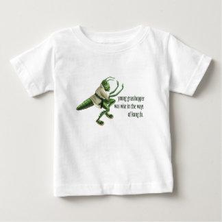 KungおもしろいなFuのバッタ ベビーTシャツ