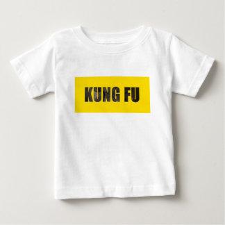 KungのFuによってのみで削られる文字 ベビーTシャツ