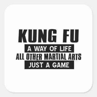 Kungのfuのギフト スクエアシール