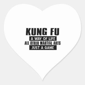 Kungのfuのギフト ハートシール