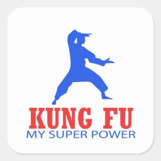 Kungのfuのデザイン スクエアシール