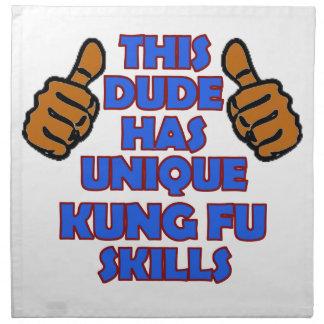 Kungのfuのデザイン ナプキンクロス